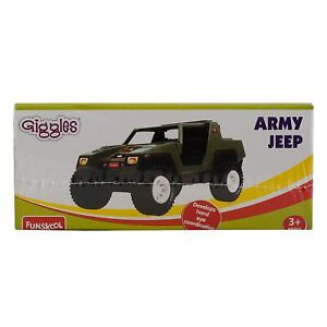 Funskool Giggles Army Jeep Multi Color