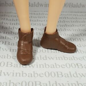 SHOES ~ DISNEY MERIDA FASHION DOLL BROWN BOOTIES ANKLE BOOTS ACCESSORY CLOTHING