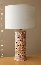 GREEK MID CENTURY MODERN PORCELAIN LAMP! 50S EAMES DALI VTG LIGHT UP BASE RAYMOR