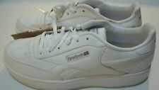 Reebok Men's Classic Ace Tennis Sneaker Size 12-15 Color White,Gray & Black