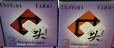 New Genuine 2 Puzzles Lot / Dayan Zhanchi 3x3 Speed Cube 3x3x3 Boxes Purple