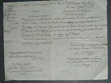 Isle de France.Port de la Montagne. brick américain Cargaison Vin de Madère.1795