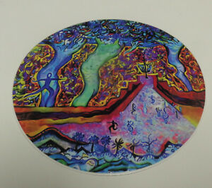 """New-4"""" Disc olf Art Sticker-""""Pinsanity""""-Very High Quality.  Water + Fade Proof~"""