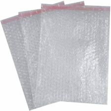 BUBBLE WRAP TRANSPARENT POUCHE SELFSEAL BAGS BP3 230x285x30mm JOB LOT 300 piece