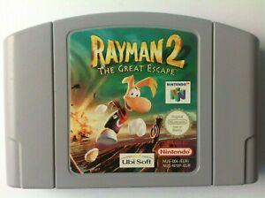 Rayman 2 The Great Escape N64 Nintendo 64 N169A1