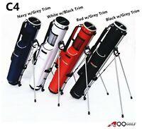 A99golf C4 Golf Practice Range Bag Sunday bag Pencil bag with Stand