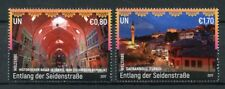 United Nations Nations Unies Vienne 2017 neuf sans charnière UNESCO Le Long Silk routes 2 V set tourisme timbres