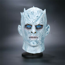 A Song Of Ice And Fire Game Of Thrones Season 8 White Walkers Night King Mask Cosplay Full Head Helmet Latex Halloween Mask Prop Back To Search Resultshome