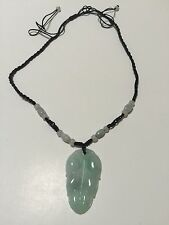Real Jade Made In China 叶 Leaf Pendant