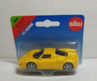 SIKU DIECAST SIKU SPORT 2 - YELLOW - #0864 - SEALED BLISTER PACK - LENGTH 8CM