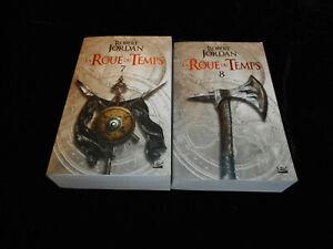 Robert Jordan : La roue du temps 7 & 8 Editions Bragelonne poche