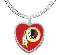 Washington Redskins Men's Women's 925 Sterling Silver Link Chain Necklace D20
