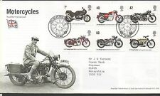GB 2005 FDC Motorcycles special handstamp Solihull stamps