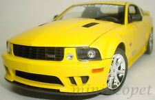 WELLY 12569 2007 07 SALEEN MUSTANG S281E 1/18 DIECAST YELLOW