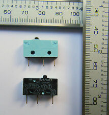 2 x V4 Crouzet MicroSwitches 10A  Contacts  Made France / U.K. Seller