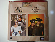 Great Moment, The & Hail the Conquering Hero 1944 Double Feature LaserDisc nMint
