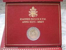 VATICANO 2004 2 EURO 75 ° ANNO CITTA' STATO VATICANO VATICANA VATICAN VATIKAN