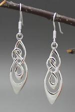 925 argento Sterling celtico knotwork Pendente Orecchini, irlandese, onorevoli, dall' Irlanda