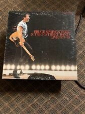 Bruce Springsteen & The E Street Band Live/1975-85 Boxed set of 5 Lp's with book