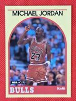 Michael Jordan 1989 NBA Hoops Superstars RARE #12 - Chicago Bulls Threepeat