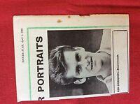m2M ephemera 1966 football picture ken hodgson bournemouth