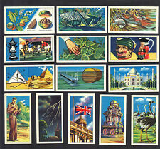 CIGARETTE/TRADE/CARDS.Ovaltine Biscuits.DO YOU KNOW.(1968).(Complete Set of 25).