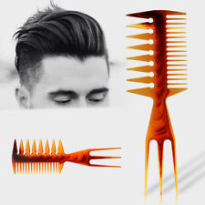 3 Way Large Wide Tooth Comb Salon Afro Hair Pick Brush Comb Hair Styling Tool