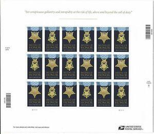 #4822-23 Medal of Honor Korean War Full Mint Sheet of 20 Forever Stamps 2013