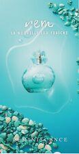 Grande carte à parfumer + patch  - perfume card  -  Rem de Reminiscence