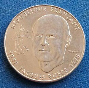 Pièce commémorative de 1 franc Jacques RUEFF 1996