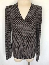 Alexander Mcqueen Catacombs Collection V-neck Wool Cardigan. Sz. XL