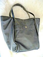 Pour La Victoire Large Black Bijou Leather Hobo/Tote/Shoulder