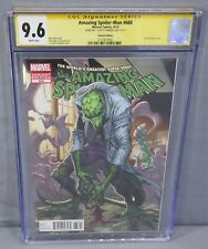 AMAZING SPIDER-MAN #688 (Campbell Lizard Variant Signed) CGC 9.6 NM+ Marvel 2009