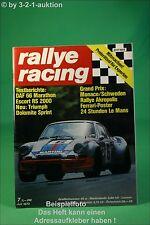 Rallye Racing 7/73 Daf 66 Ford Escort RS 2000 Triumph + Poster