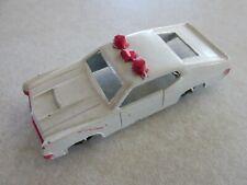Mc5 VINTAGE MIDGETOY DIECAST White Police Car Emergency Vehicle Ford Torino