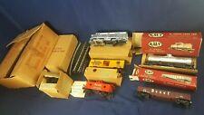 RARE Kusan Auburn KMT O Gauge Bexel Drug Model Train Set 1950s? KF-1015 LN w Box