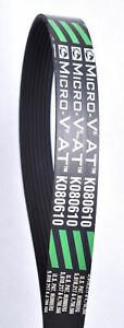 Gates Green Stripe Micro-V AT Serpentine Belt  K080610