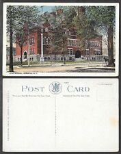 Old Postcard - Norwich, New York - High School