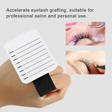 Eyelash Stand-8-15mm Makeup Eyelash Tray Strip Stand Ciglia Extension Mano Piatta Ciglia Supporto for innesto