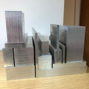 VARIOUS SIZES OF ALUMINIUM FLAT BAR BILLETS SQUARE FLAT ENGINEERING BAR MILLING