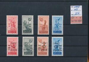 LN67685 Belgium 1948 E. Anseele monument fine lot MNH cv 22 EUR