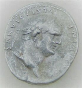 UNRESEARCHED ANCIENT ROMAN SILVER DENARIUS COIN 2.73G