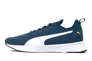 Puma Flyer Runner Dark Denim / White Mesh Running Shoes Trainers UK 6.5 - 10
