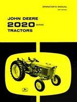 John Deere 2020 Gas Diesel Operators Manual JD