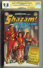 Shazam! and The Shazam Family! Annual #1 SS CGC 9.8 4X Auto Levi