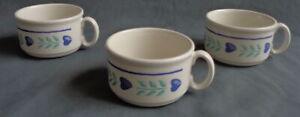 CHURCHILL 3x soepkom kom O10,5xH6,5cm 35cl soepkop soup bowl mug Schussel bol