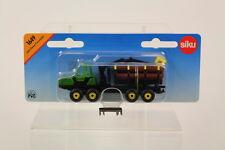 "Siku SK1649 Diecast John Deere Tractor "" Forwarder "" , 1:87 Scale"