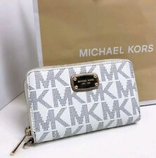 Michael Kors Zip Around Signature Logo Wallet