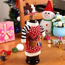 Decorazioni da tavola Festa di Natale Regalo Tappo di bottiglia di vino Holidacr