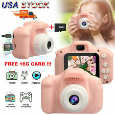 Mini HD Kids Digital Camera +16G TF Card 1080P Cute Camcorder Video Cam Recorder